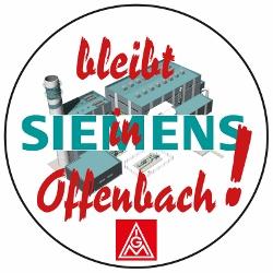 Siemens bleibt in Offenbach!